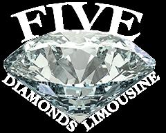 five diamonds logo footer