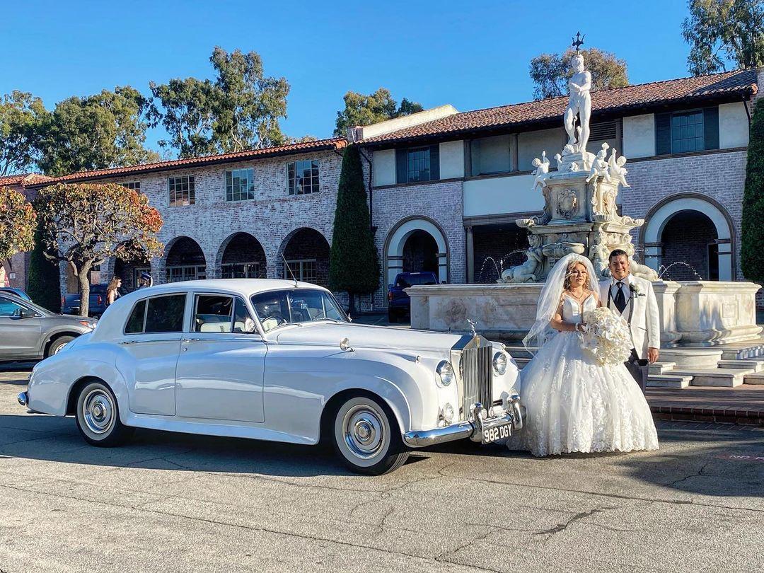 1956 Rolls Royce limo