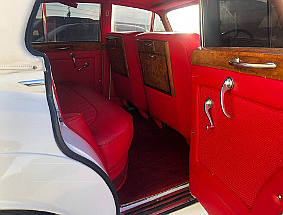 1956 bentley limo interior view #1