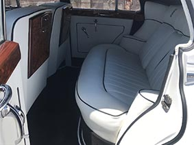 1956 rolls royce limo interior view #2