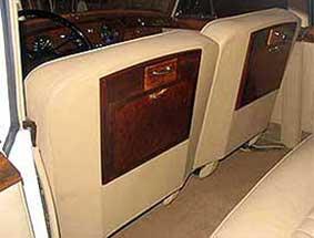 1960 bentley limo interior view #1