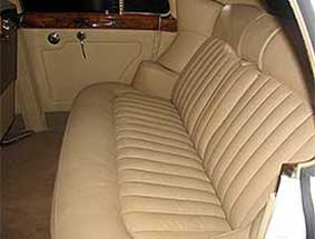 1960 bentley limo interior view #2