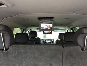 backseat view cadillac escalde