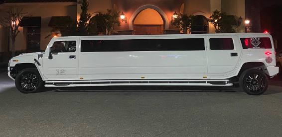 outside hummer limo