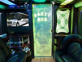 inside view of party bus limo #2