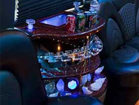 inside view of party bus limo #3