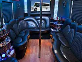 inside view of party bus limo #4