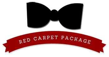 red carpet package graphic